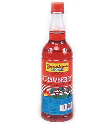 jamaican choice strawberry syrup net wt 25 5 oz